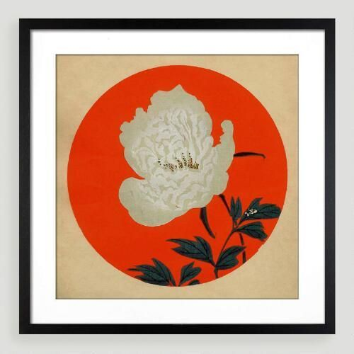 One of my favorite discoveries at WorldMarket.com: 18th-Century Japanese Wall Art