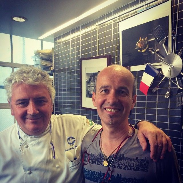 Meeting with Jean-Louis Dumonet and Claude Godard, President and Vice President of Maîtres Cuisiniers de France (French Master Chefs) - excited to start working with them!