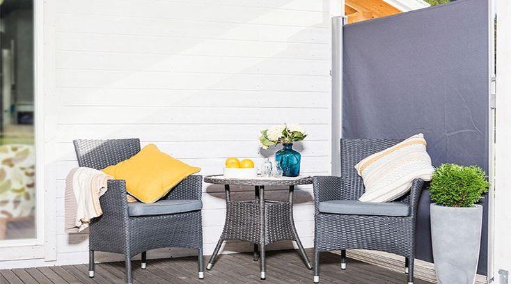 Gjør det lunere og koseligere på terrassen
