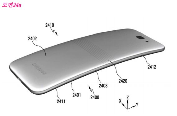 Samsung thinks foldable phones are the new flip phones     - CNET  Enlarge Image  The rendering shows a hinge on the back of the device which gives the phone an axis to fold on.                                             Samsung patent screenshot via Gordon Gottsegen/CNET  Enlarge Image  When folded the phone resembles a Microsoft Surface Book. Note the small gap.                                             Samsung patent screenshot via Gordon Gottsegen/CNET…