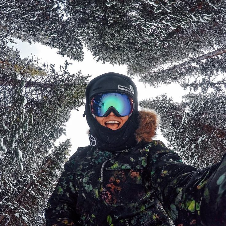 """gopro on Instagram: """"Photo of the Day! Oh hey, what's up @elenahight !?! She knows the best way to finish off the holiday is getting some fresh tracks. Share your weekend with us via awards link in our bio. #GoProGirl #GoProSnow"""""""