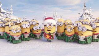 Minions Cantando Merry Christmas