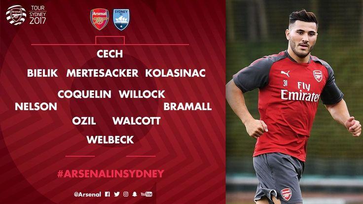 Arsenal V Sydney FC | Match en direct | Arsenal.com