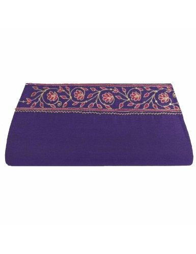 Monederos y bolsos para mujeres embrague tela de seda bordado: Amazon.es: Zapatos y complementos