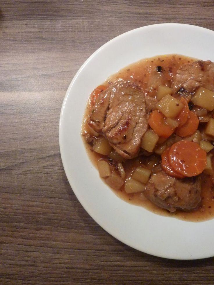 Les 321 meilleures images du tableau cuisine porc sur - Cuisiner filet mignon ...