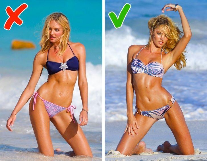 Топ-модели поделились секретами удачных снимков в купальнике