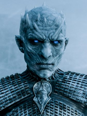 Another amazing white walker. I thought about creating the horns for my application.