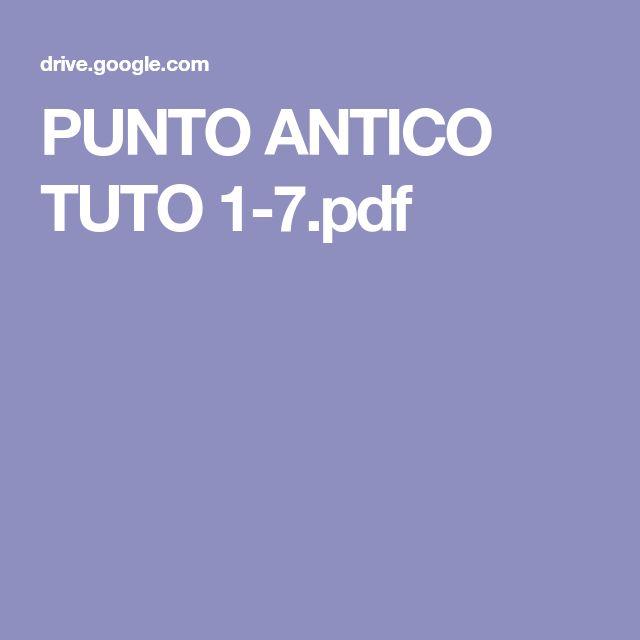 PUNTO ANTICO TUTO 1-7.pdf