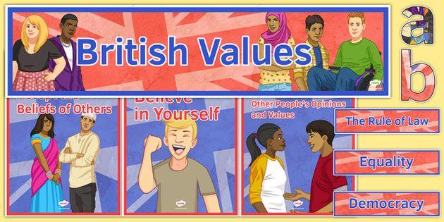 * NEW * British Values Display Pack