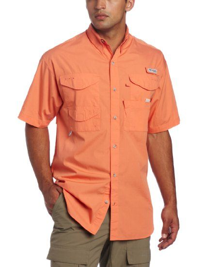 Columbia men 39 s bonehead short sleeve fishing for Mens fishing shirts