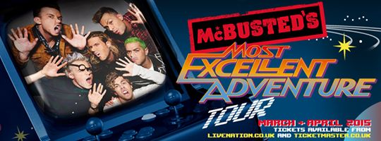 McBusted Tour 2015.
