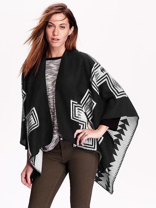 Old Navy Poncho Wrap