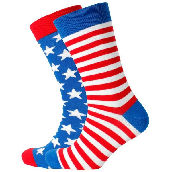 Men's Stars & Stripes Odd Socks – Mitch Dowd