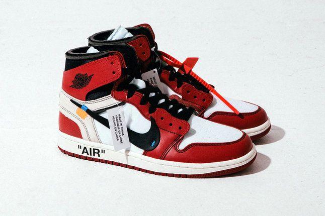 Cool Off White X Authentic Cheap Air Jordan 1 Retro High Og 10x