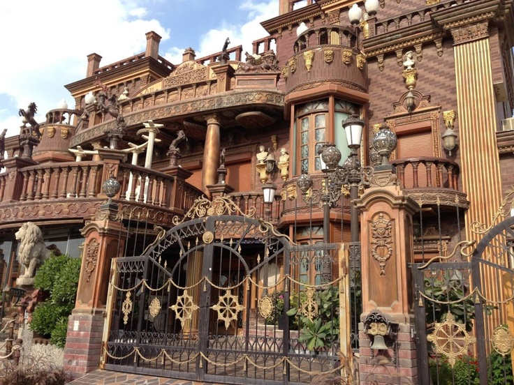 steampunk tendencies villa akbar mansion in kuwait