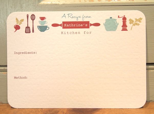 17+ images about Recipe Cards on Pinterest | Printable recipe ...
