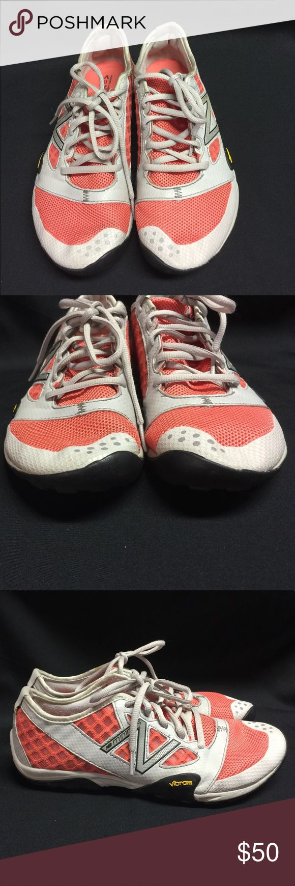 New Balance Minimus Running Shoe Orange Tan New Balance Womens Minimus WT20CG Running Shoe Training Lightweight Orange and tan These shoes look like they were worn very little.  Only minor scuffs.  See pics to see if they will work for you!  This edition of the Minimus Trail features a modified upper on the same comfortable sole unit as its popular counterpart the WT10, creating a near-barefoot experience on the trail.. New Balance Shoes Athletic Shoes