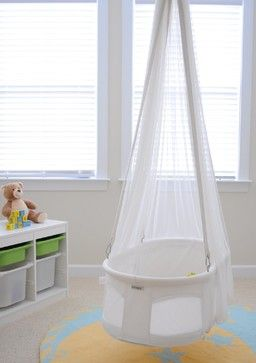 Dreambur Designer Hanging Bassinet - contemporary - baby swings and bouncers - Amazon