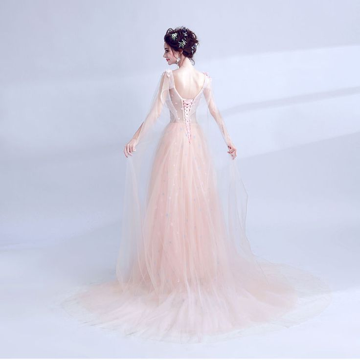 Buy Angel Bridal Sleeveless Flower Applique Evening Gown at YesStyle.com! Quality products at remarkable prices. FREE Worldwide Shipping available!