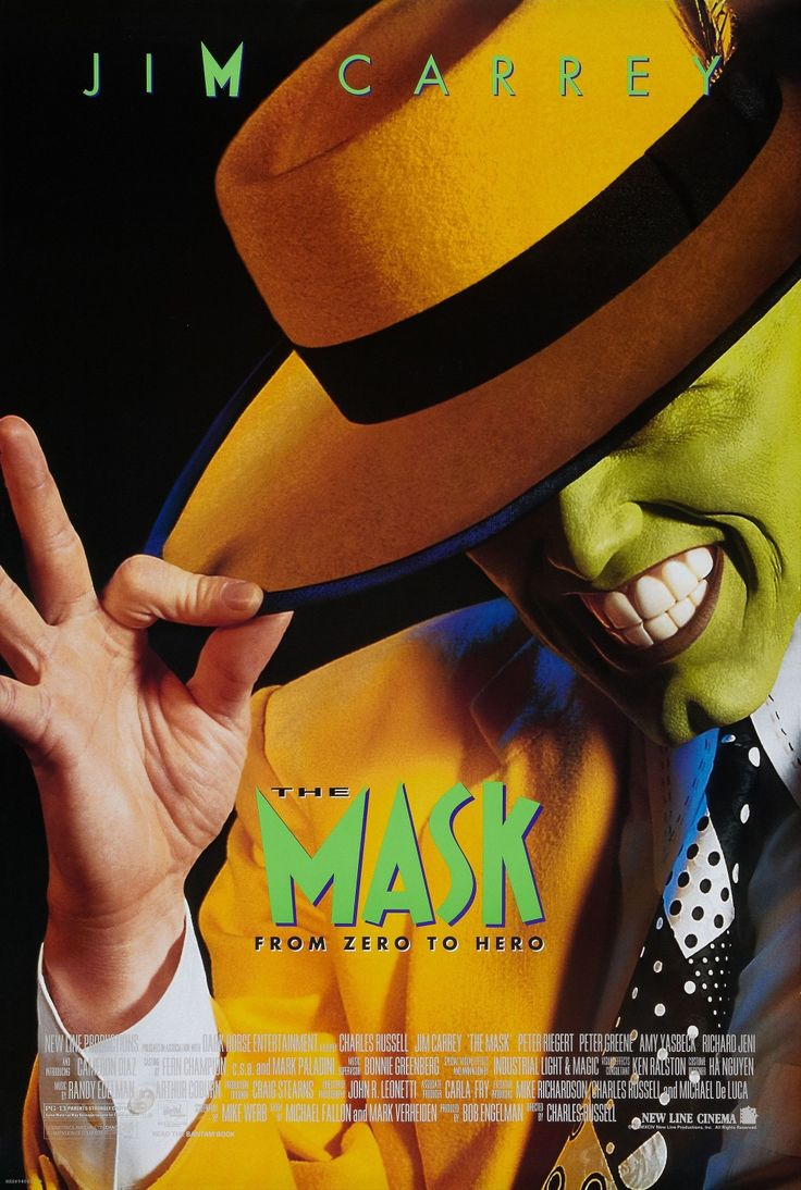 The Mask From Hero to Zero with Jim Carrey, Cameron Diaz, Peter Greene, Amy Yasbeck, Peter Riegert, Richard Jeni, Ben Stein, Joely Fisher, Tim Bagley, Reg E. Cathey, Denis Forest, and Orestes Matacena