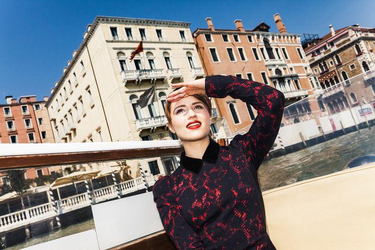 Дианна Агрон — Glamour 2013