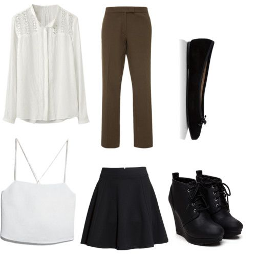 by adilaanindya on Polyvore featuring polyvore fashion style MANGO Joseph H&M