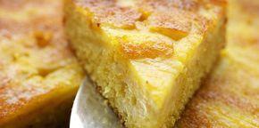 Gâteau à l'ananas mixé rapide
