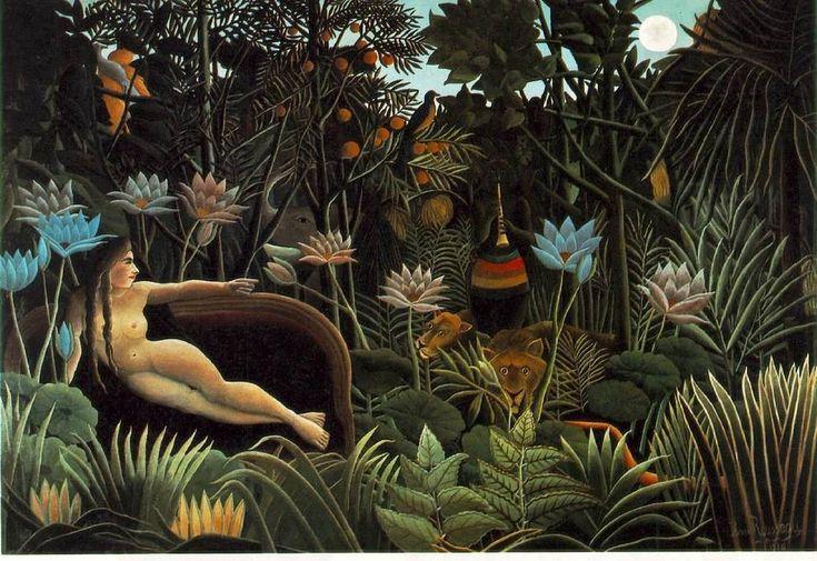 The Dream (1910) - Henri Rousseau