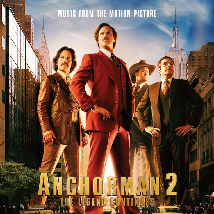 Various Artists, Anchorman 2: The Legend Continues - Music From The Motion Picture in High-Resolution Audio - ProStudioMasters