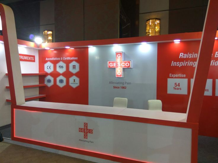Exhibition Stall designed for our Client GESCO for event held at ITC Grand Chola