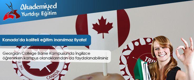 Georgian College Barrie Kampusunda İngilizce öğrenirken kampus olanaklarından da faydalanabilirsiniz. Georgian College English for Academic Pursposes EAP öğrencilere Kanada'da yüksek eğitim ve iş hayatında başarılı olma olanakları sunuyor. 4 seviyelik bu program Languages CAnada tarafından akredite edilmiştir.