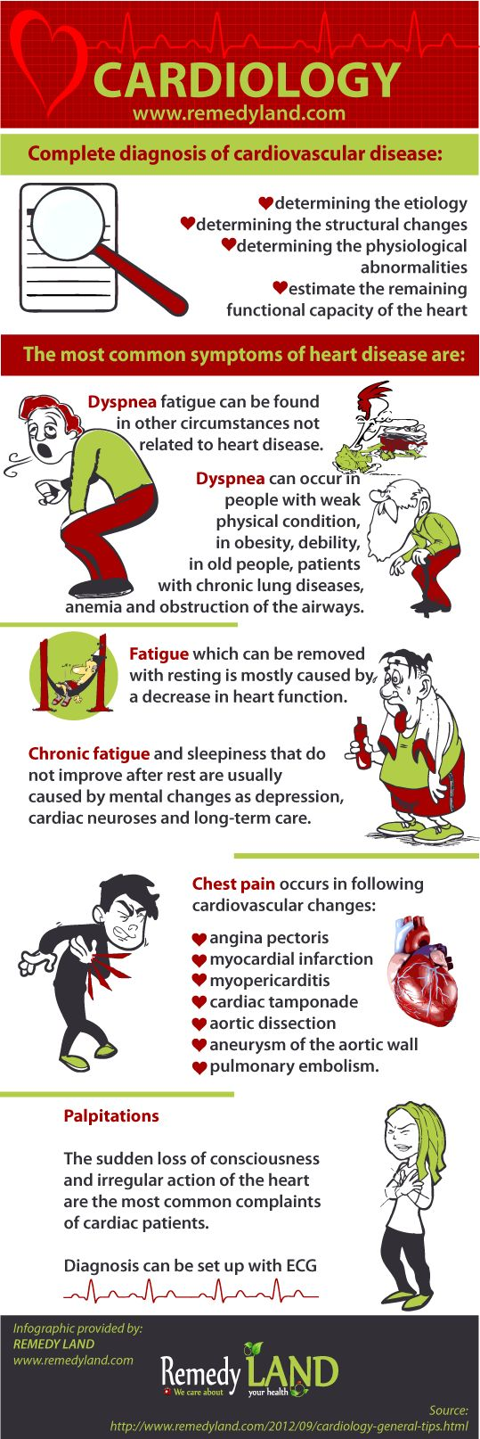 http://www.remedyland.com/2012/09/cardiology-general-tips.html Cardiology: General Tips It is important to see your doctor so that you can obtain a correct diagnosis and punctual remedy. #HeartDisease ========================== Warning to all scrapers, do not change source of infographics and do not try to modify infographics, we are going to put your pin down and take further legal actions.