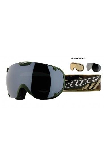 DYE Goggle T1 Camo Standard
