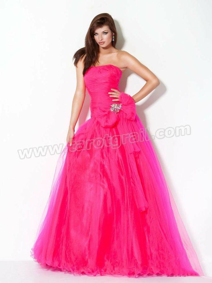Mejores 119 imágenes de Strapless Evening Dresses en Pinterest ...