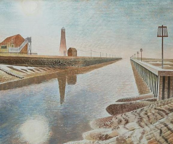Eric Ravilious, Rye Harbour, 1938