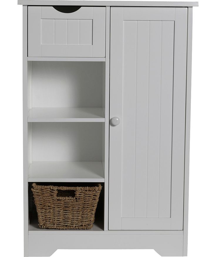 Shaker Slimline Hall Storage Unit with Cupboard