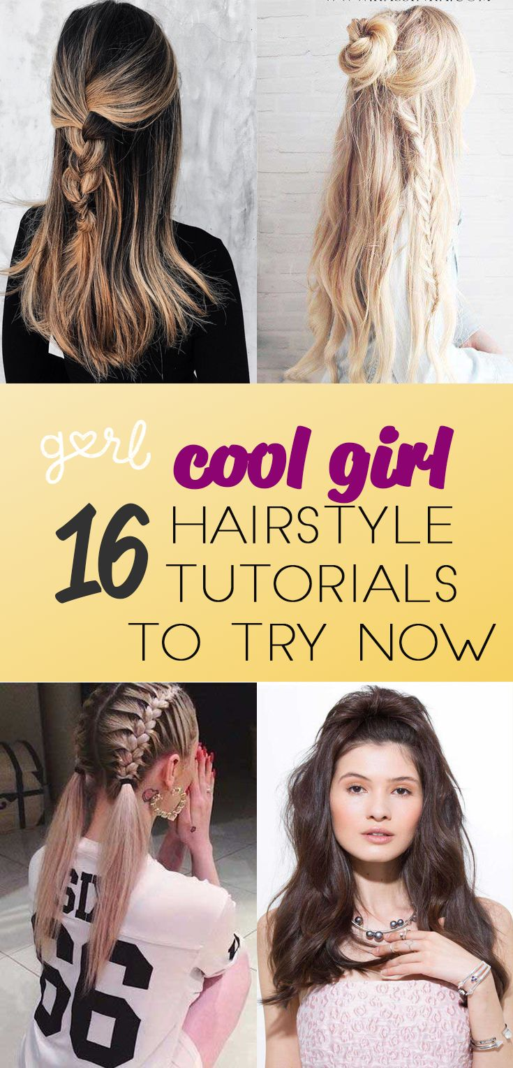 16 Easy Tutorials On How To Do The Most Popular Hairstyles