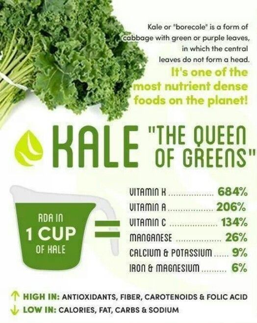 Health Benefits of Kale for Toddlers