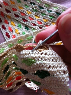 Crochet Hearts Stitch - tutorial and chart
