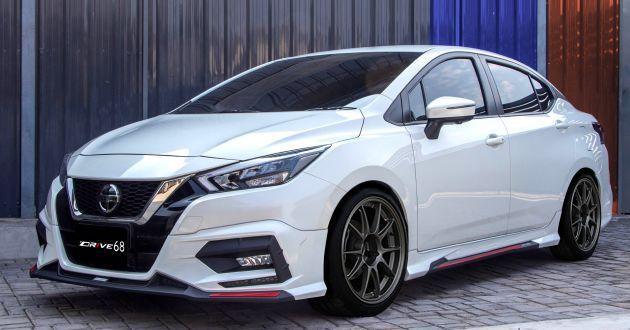 2020 Nissan Almera Dressed Up In Drive68 Body Kit In 2020 Nissan Almera Nissan Nissan Versa
