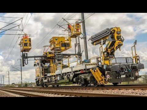 Railway Construction Machine Compilation