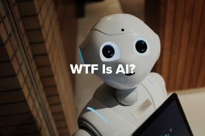 WTF is Artificial Intelligence? – Machine Learnings