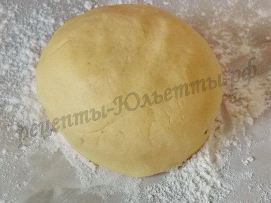 домашнее песочное тесто на желтках