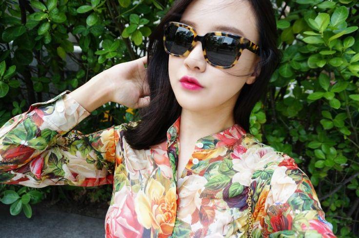[공유] 세련된 여자 선글라스 ♡ 아일랜드서프 호피테 Lumas와 함께한 데일리룩
