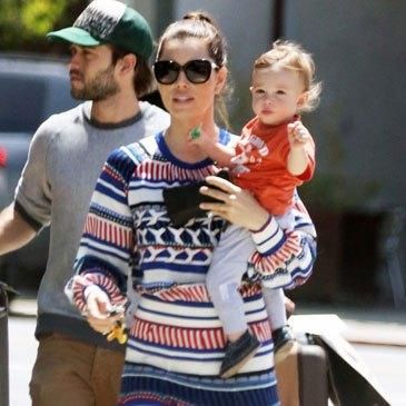 Cute-As-A-Button Silas Timberlake Steals Hearts While Out With Mom Jessica Biel!