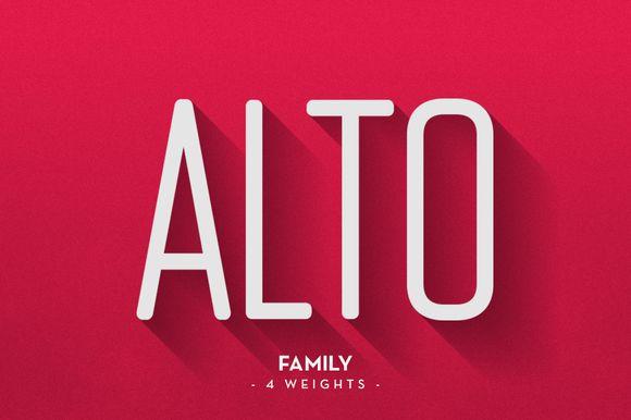 ALTO Font