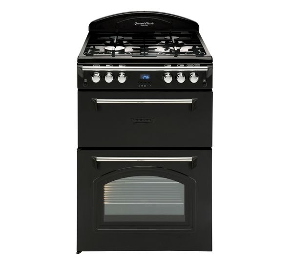 Buy LEISURE GRB6FVK Dual Fuel Cooker - Black   Free Delivery   Currys