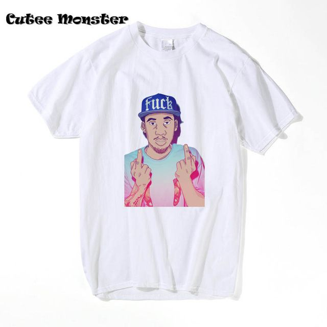 Ofwgkta T-shirt Men 2017  Odd Future Hodgy Beats 3D Printed T Shirt Songwriter American Rapper Hip Top Tees Clothing 3XL