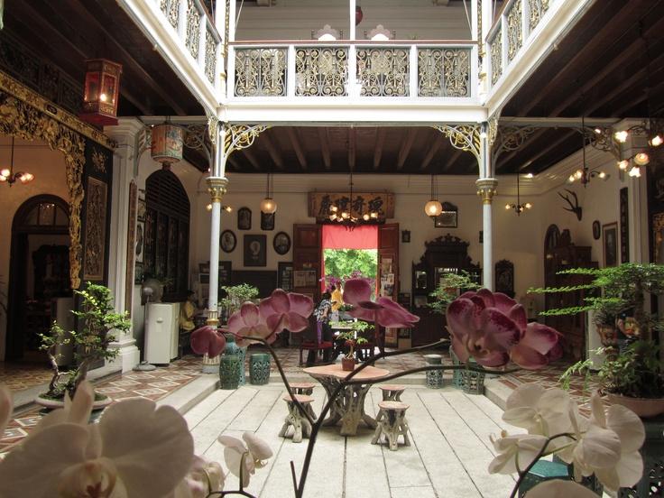 Pinang peranakan mansion, typical house in Malaysia