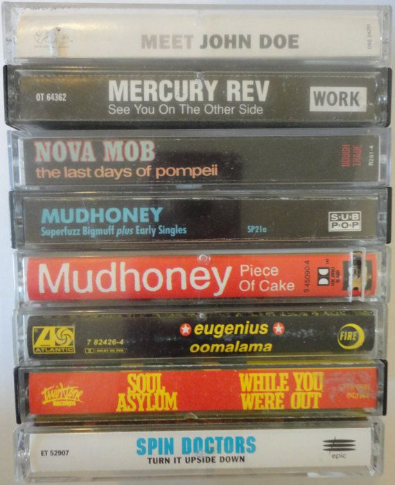 unknown 90s alternative cassette tape LoT by VintageTrafficUSA, $23.50